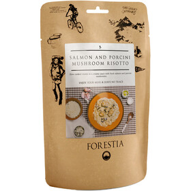 Forestia Outdoor Meal Vegetarian 350g, Salmon and Mushroom Risotto